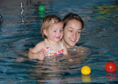 Schwimmschule Rätia, Babybaden